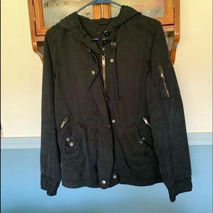 Off-black Utility Jacket